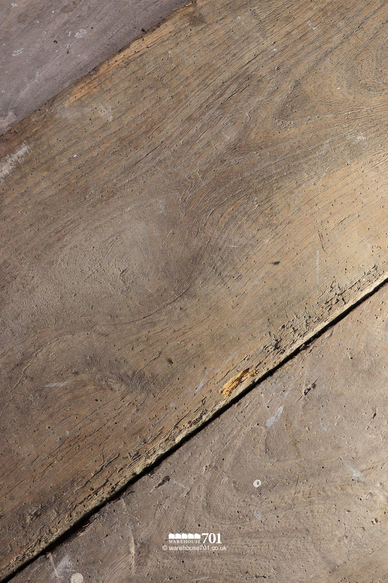 Beautiful Authentic 18th Century Elm Plank Flooring #3