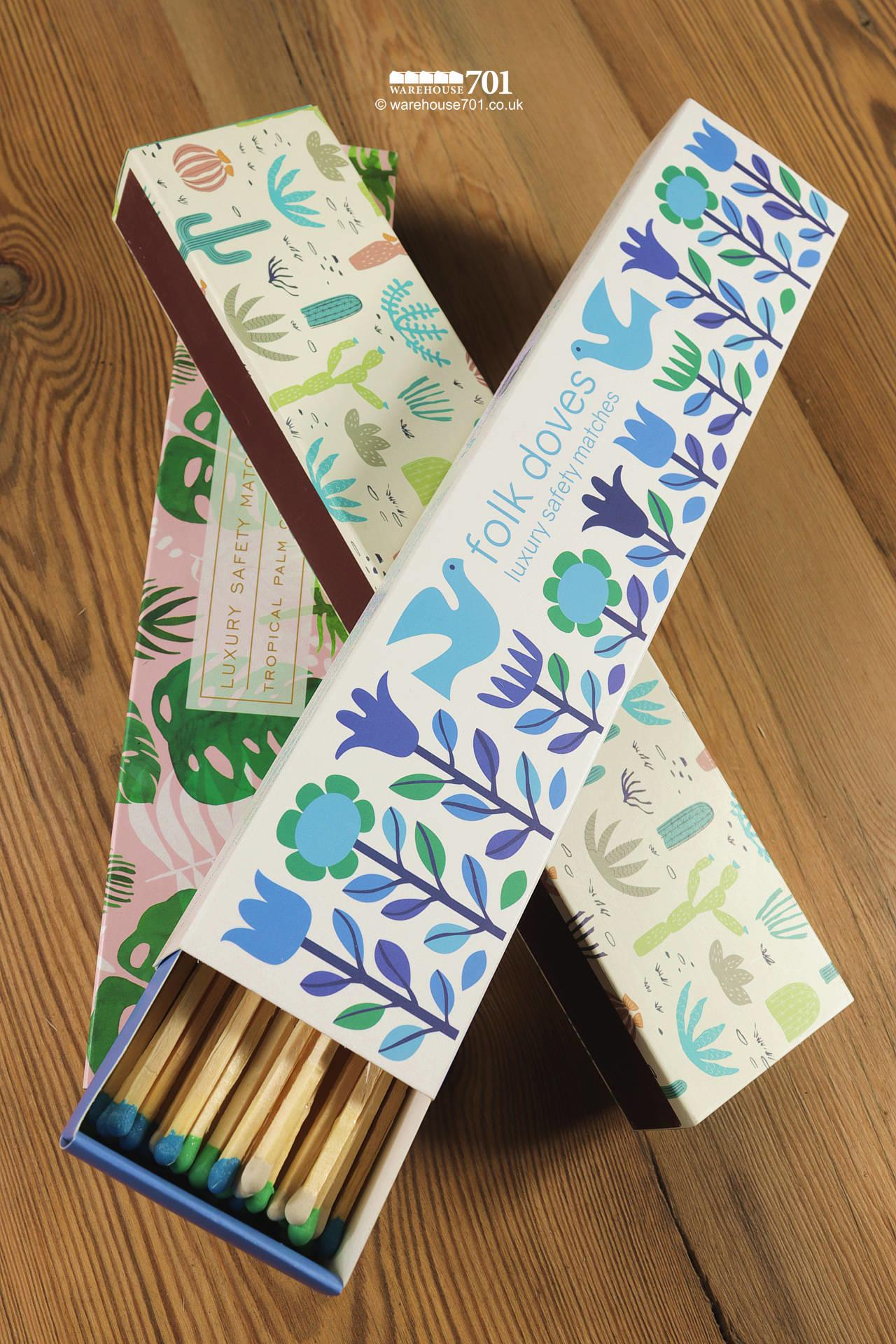 Decorative Boxes of Very Long Matches