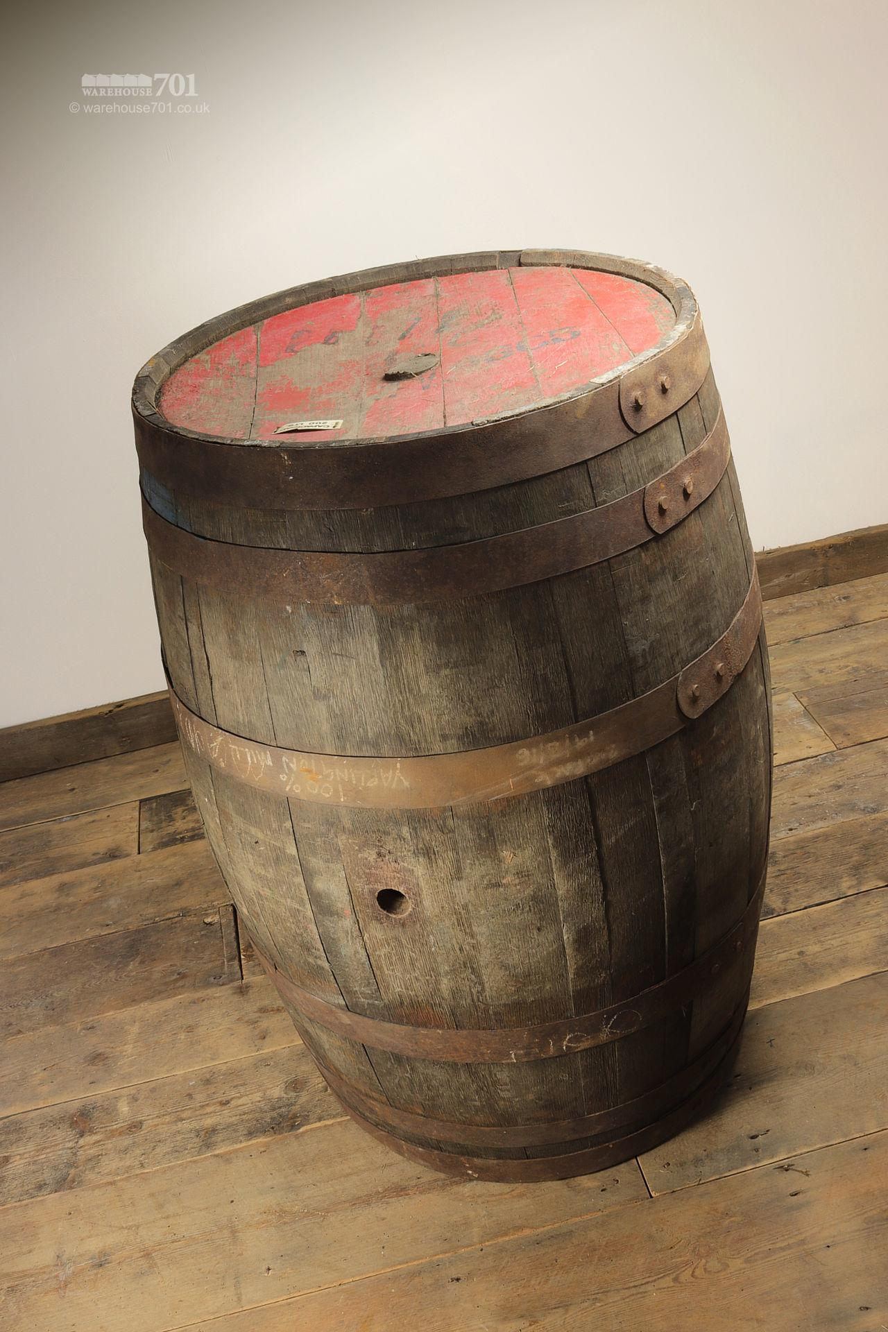 Reclaimed Solid Oak Authentic Whisky Barrels, Casks or Kegs #6