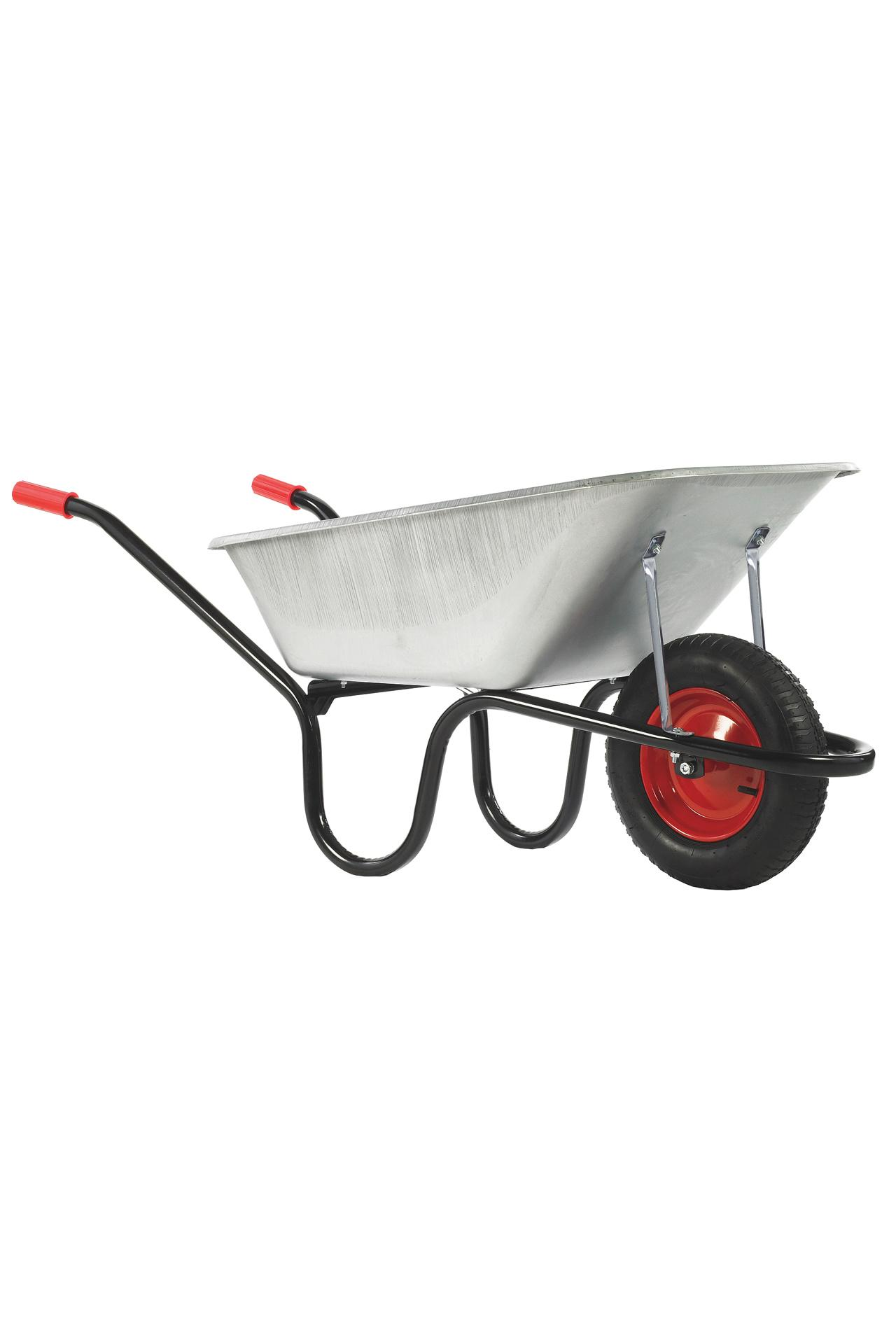 Haemmerlin Camden Classic Galvanised 85L Solid Wheel Wheelbarrow #3