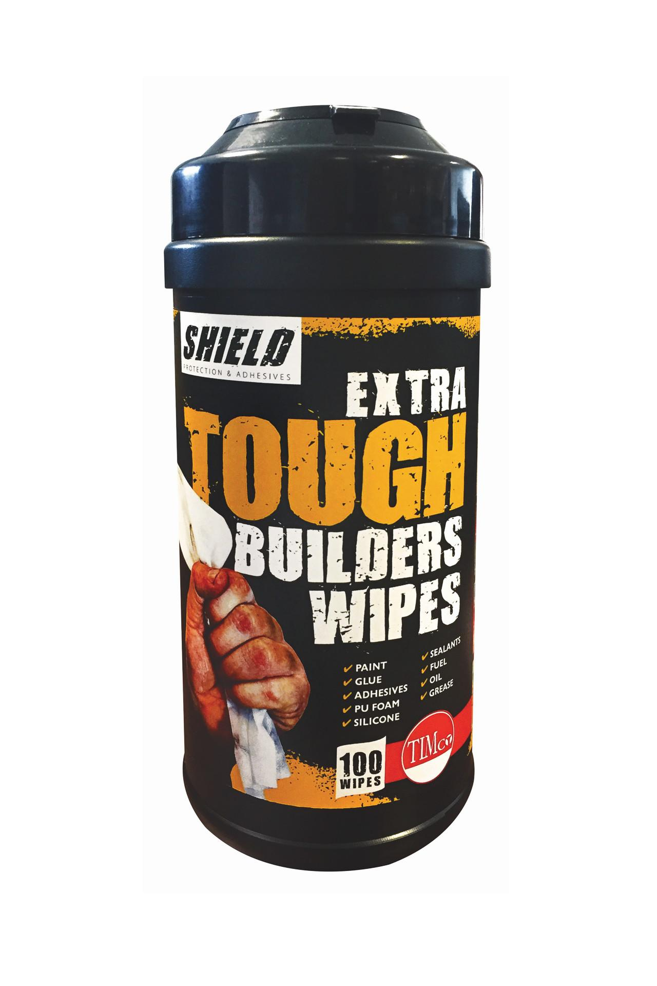 Shield Extra Tough Builders Wipes