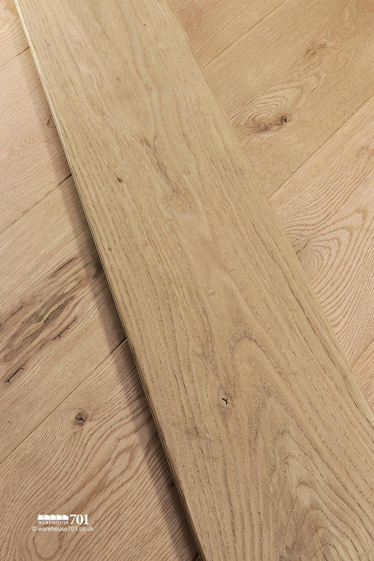 New Natural Oak Solid Wood Plank Flooring #4