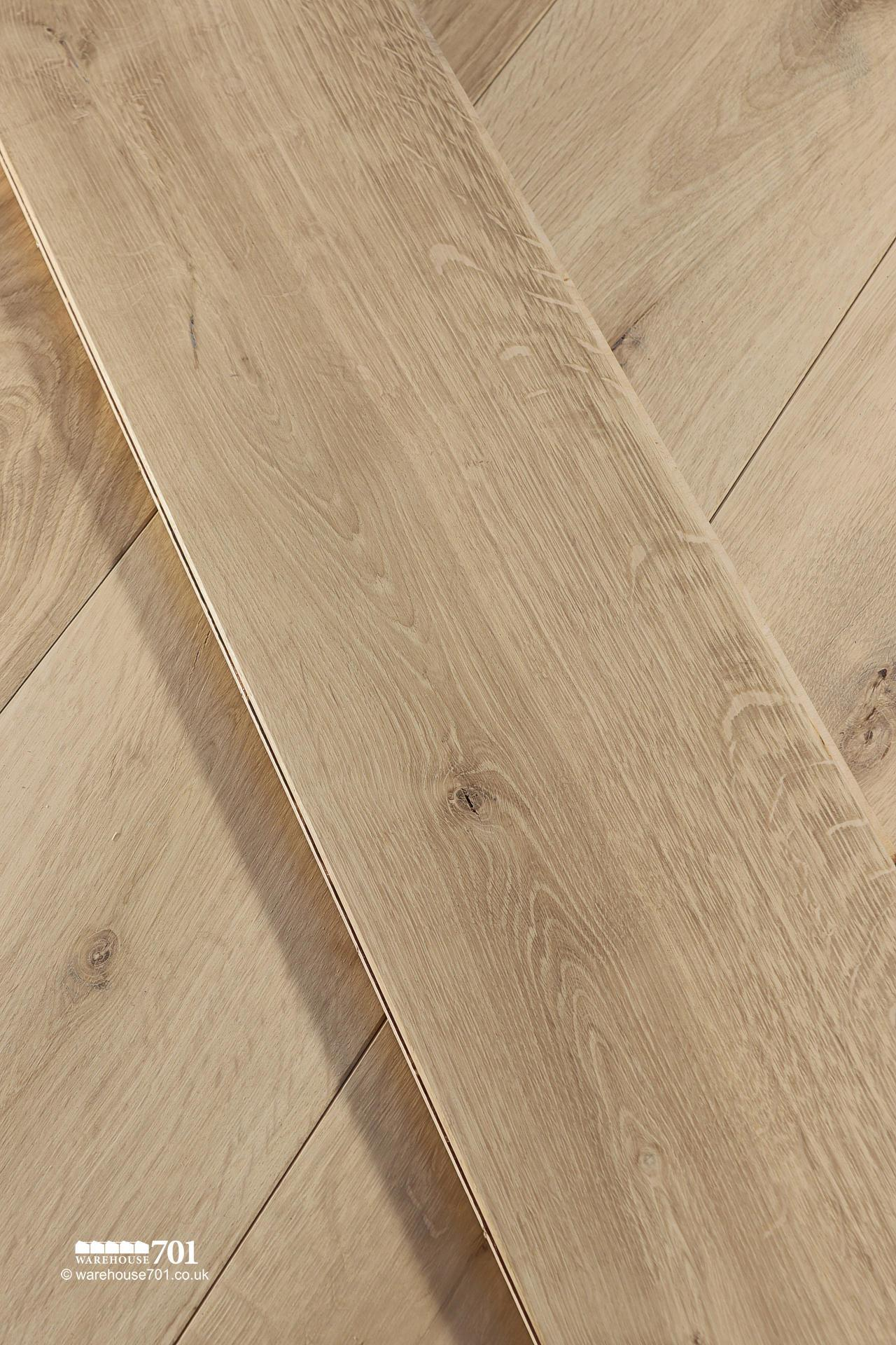 New 'Wessex' Engineered Natural Oak Wood Flooring #2