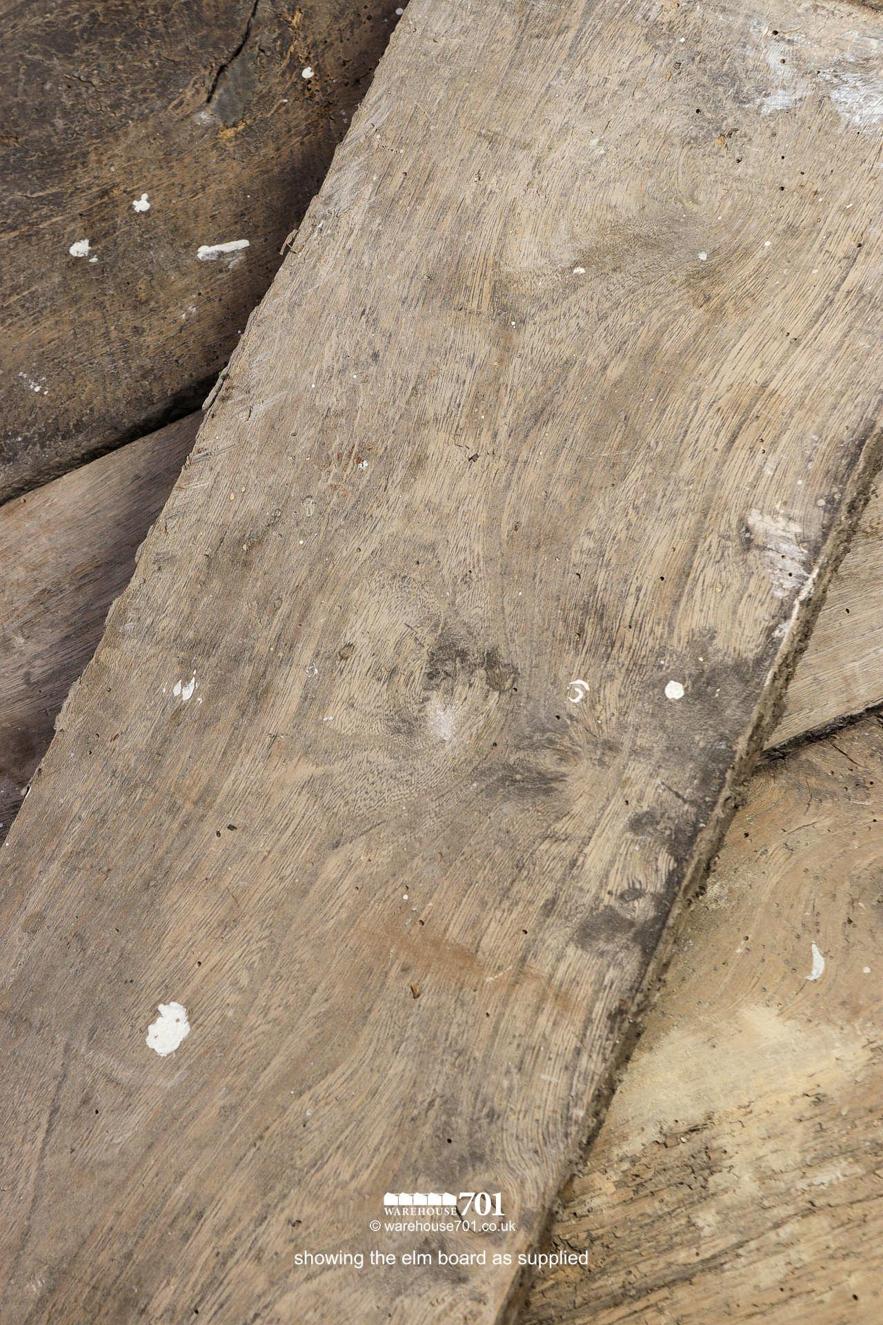 Beautiful Authentic 18th Century Elm Plank Flooring #4