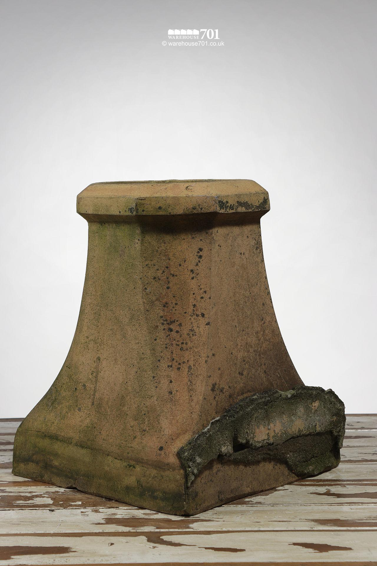 Salvaged Halifax Style Buff Colour Chimney Pot #2
