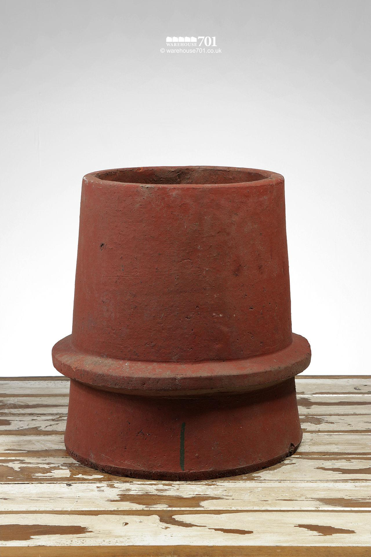 Simple Conical Beaded Terracotta Chimney Pot #2