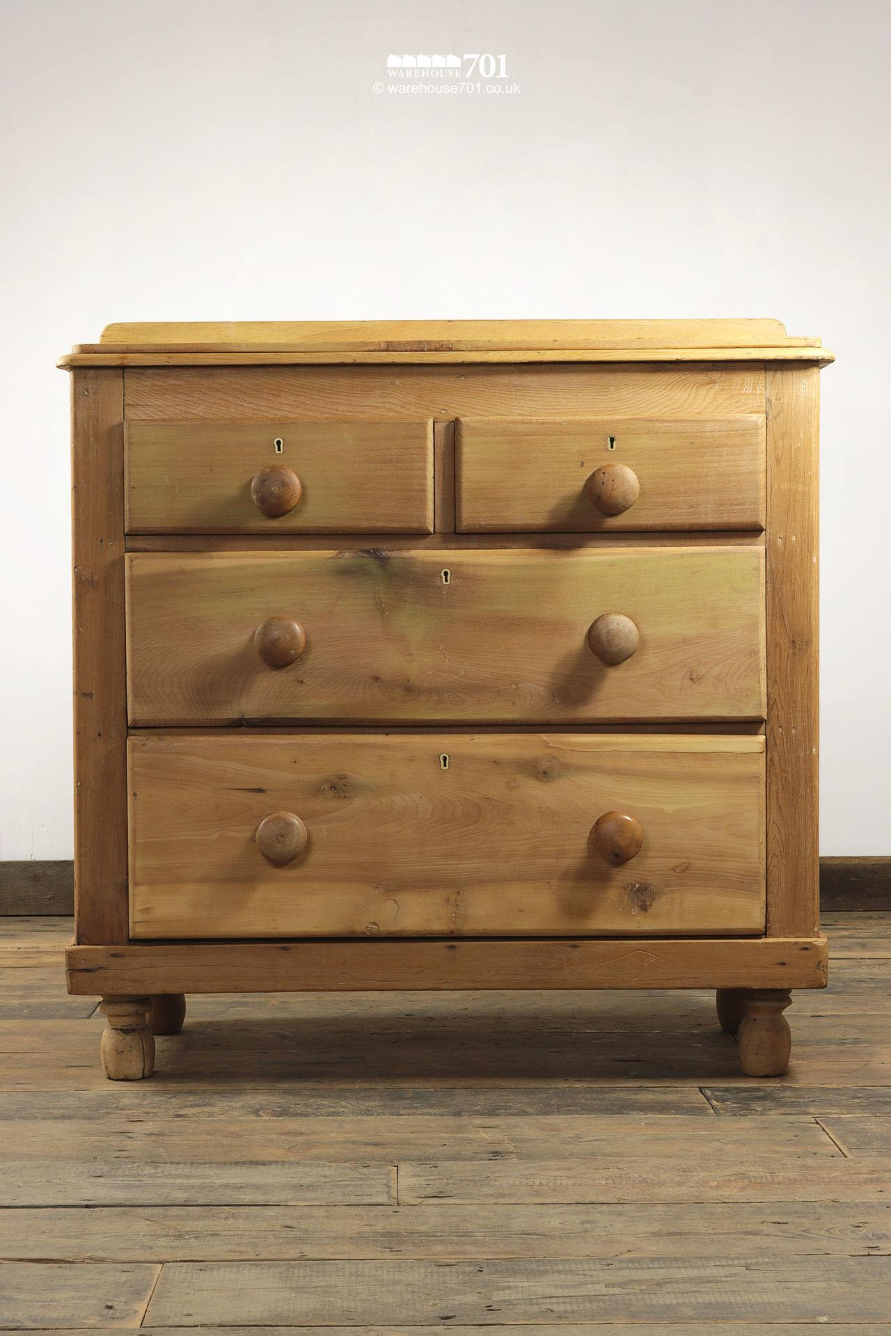 Vintage Honey Pine Ray & Miles Chest of Drawers #4