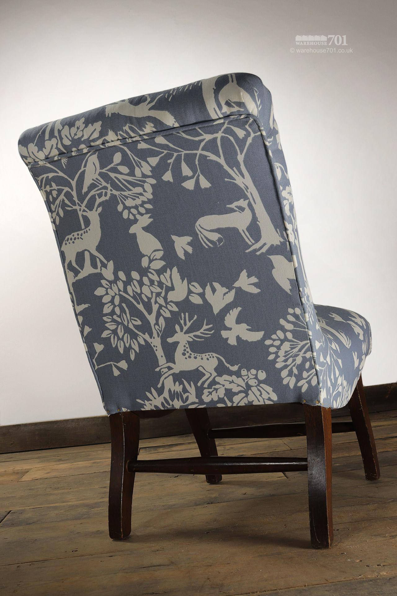 Reclaimed Small Child's Nursery Chair #3