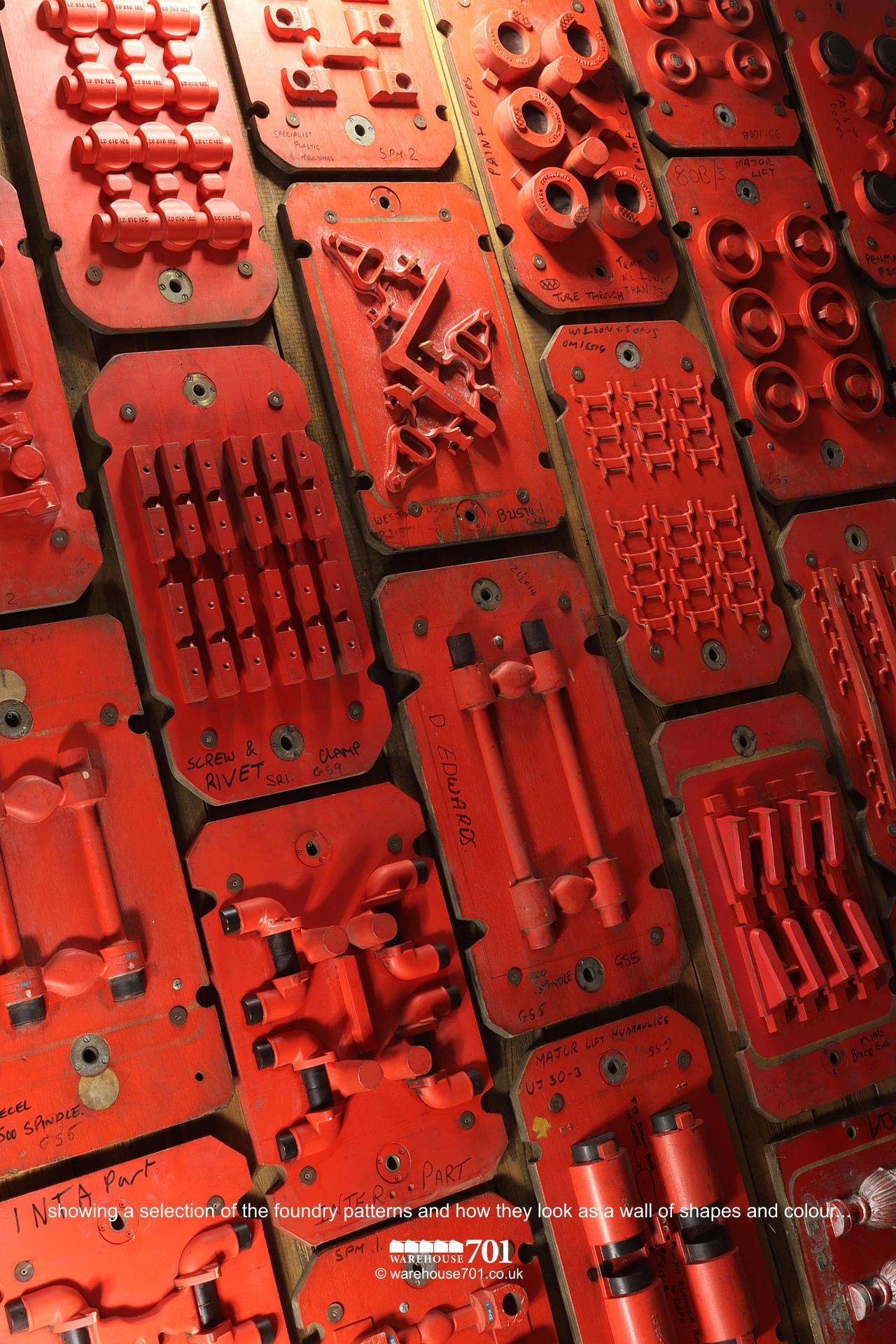Salvaged Foundry Patterns or Moulds (No's 1 to 3) for Shop, Retail and Home Display #7