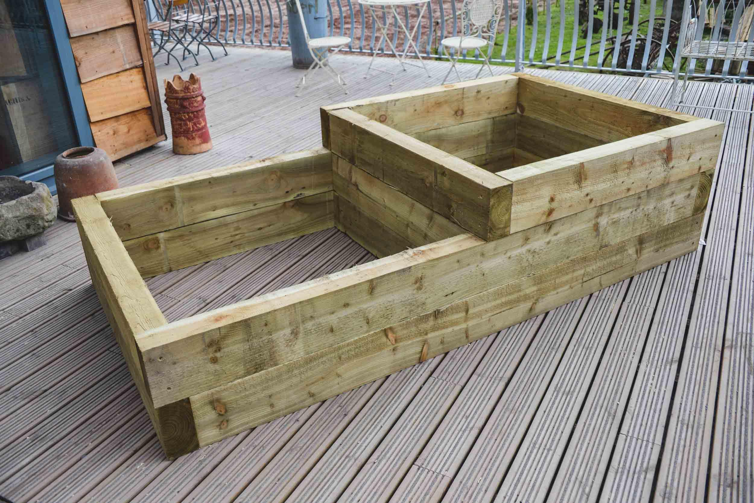Double Garden Planter Kit #2