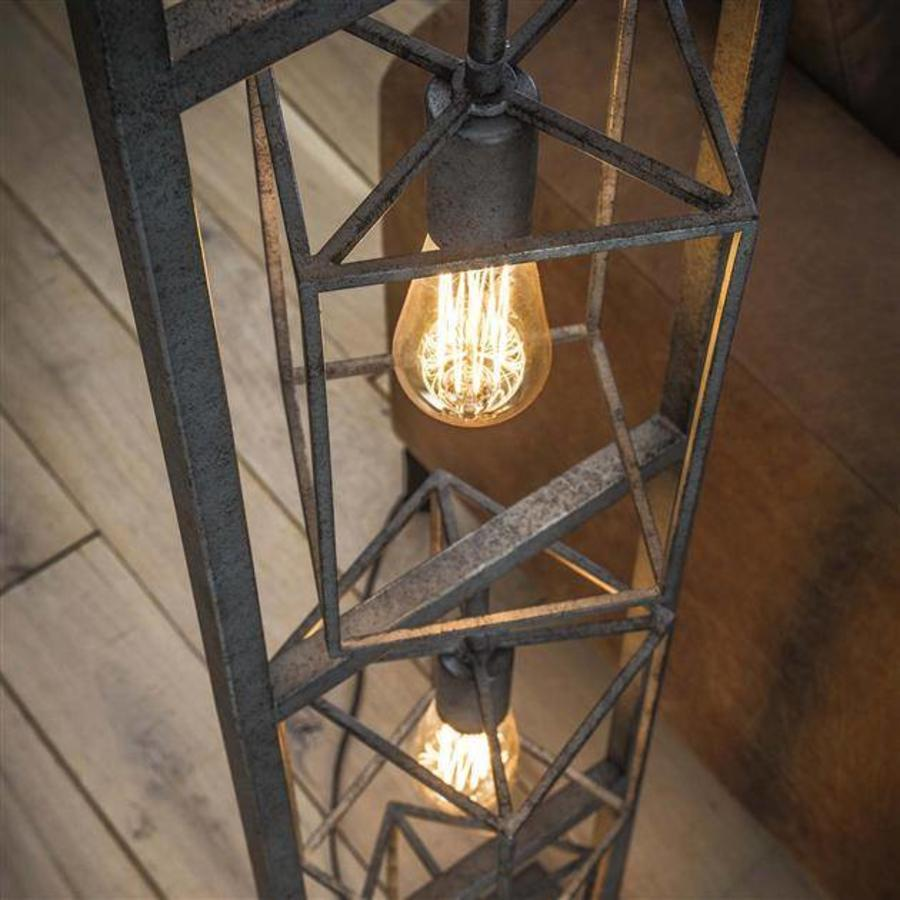 Industrial Floor Lamp 4 Bulb #3