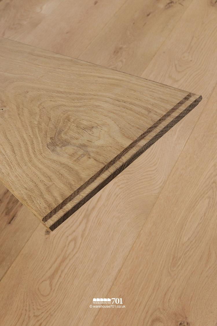 New Natural Oak Solid Wood Plank Flooring #5