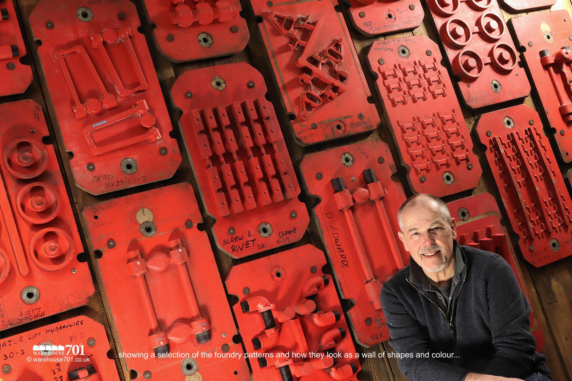 Double-Sided Foundry Patterns or Moulds (No's 25, 26, 27) for Shop, Retail and Home Display #4