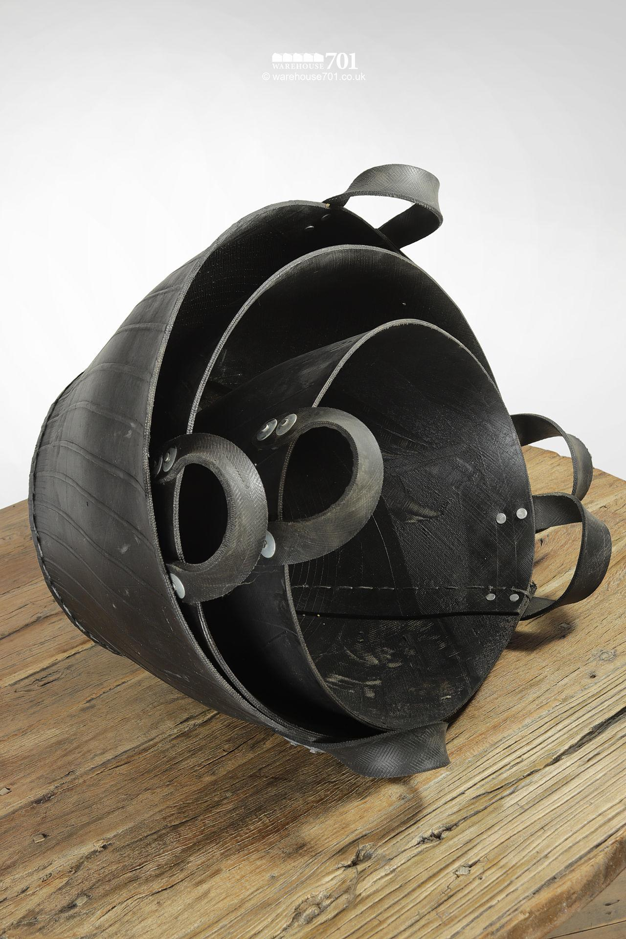 NEW Extra Tough! Recycled Tyre Buckets with Twin Riveted Handles #3