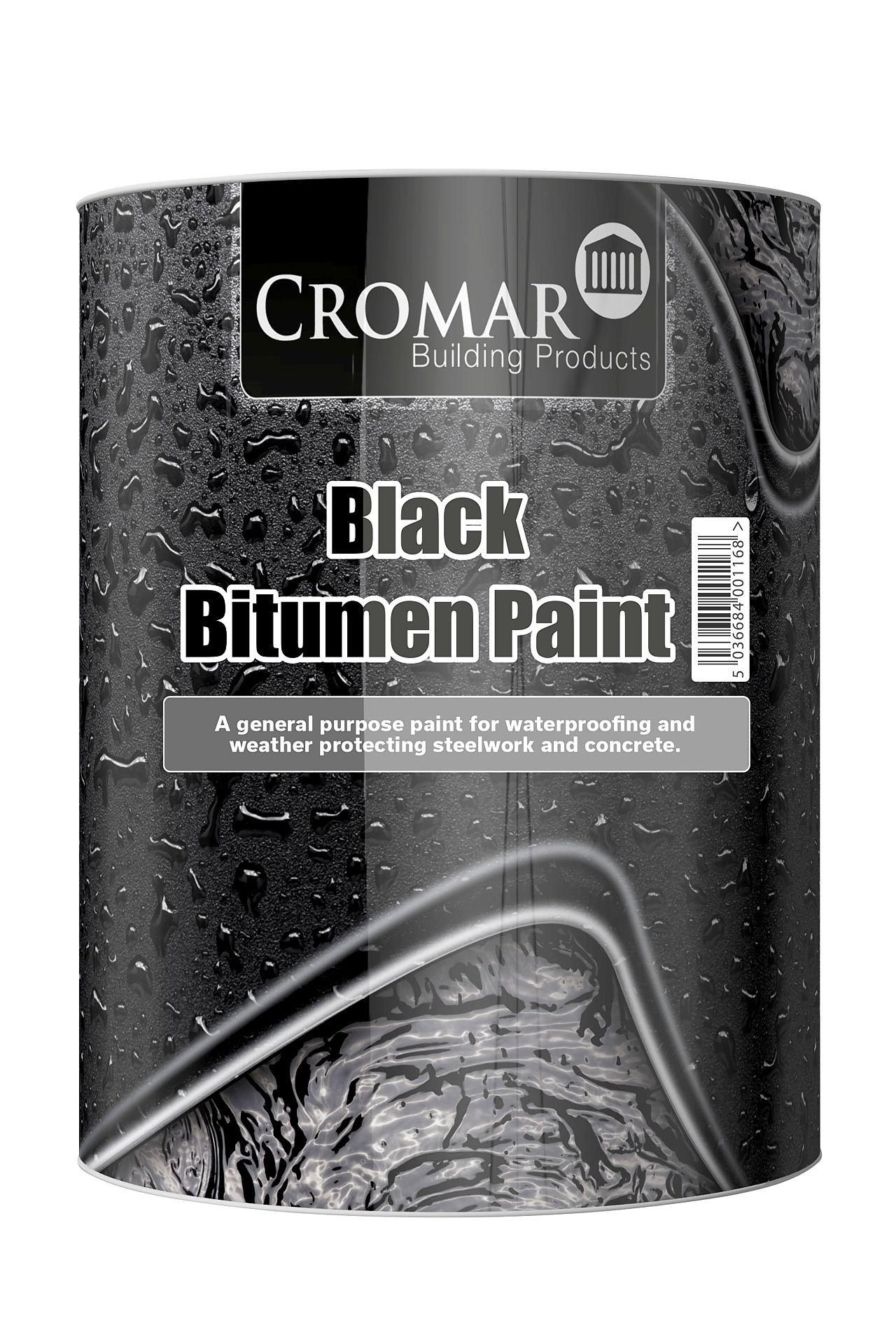 Black Bitumen Paint 2.5L