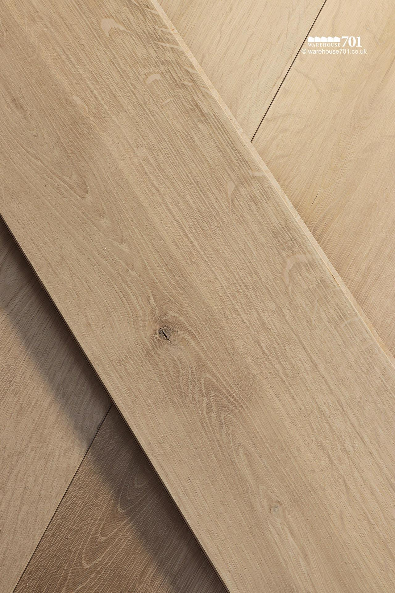 New 'Wessex' Engineered Natural Oak Wood Flooring #4
