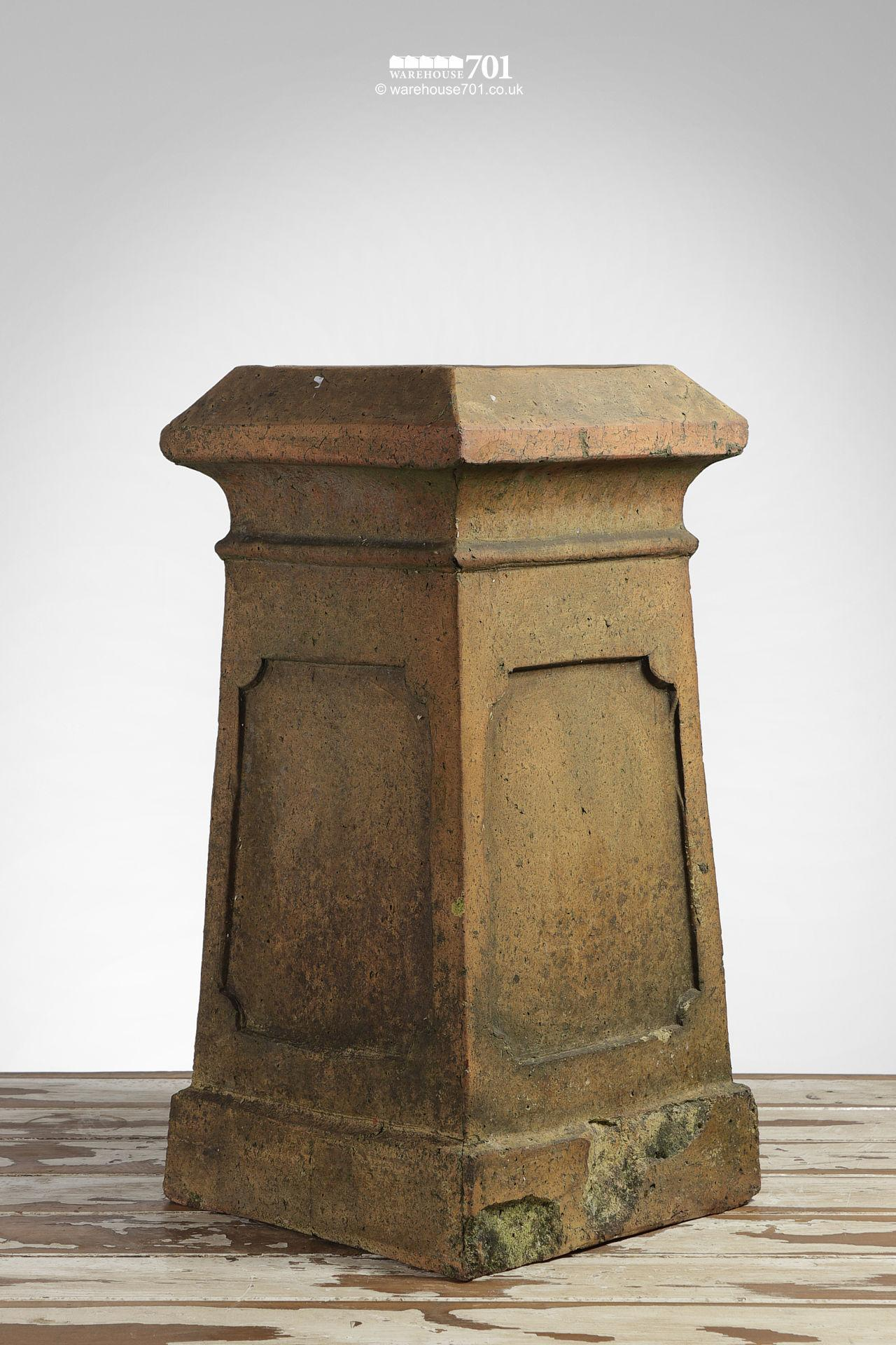 Used Boulton and Paul Buff Colour Square Chimney pot #2