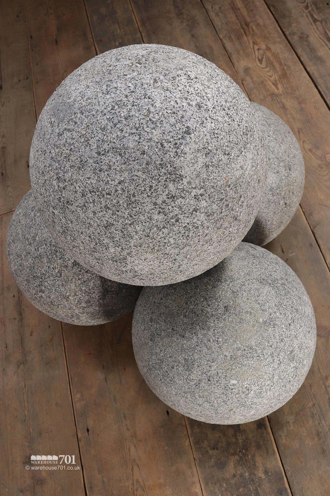 Granite Balls or Stone Spheres for Gate Pillars and Gardens #4