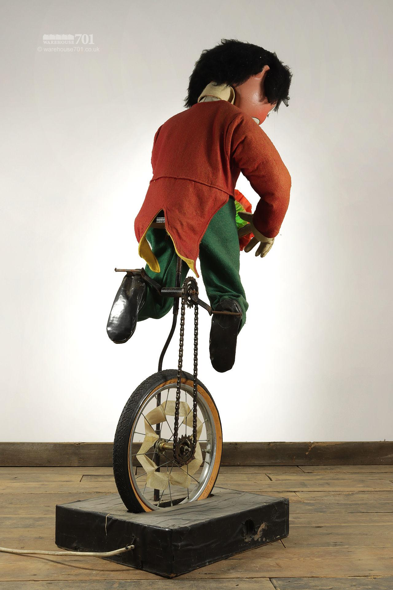 Reclaimed Clown on a Unicycle Shop Automaton #2