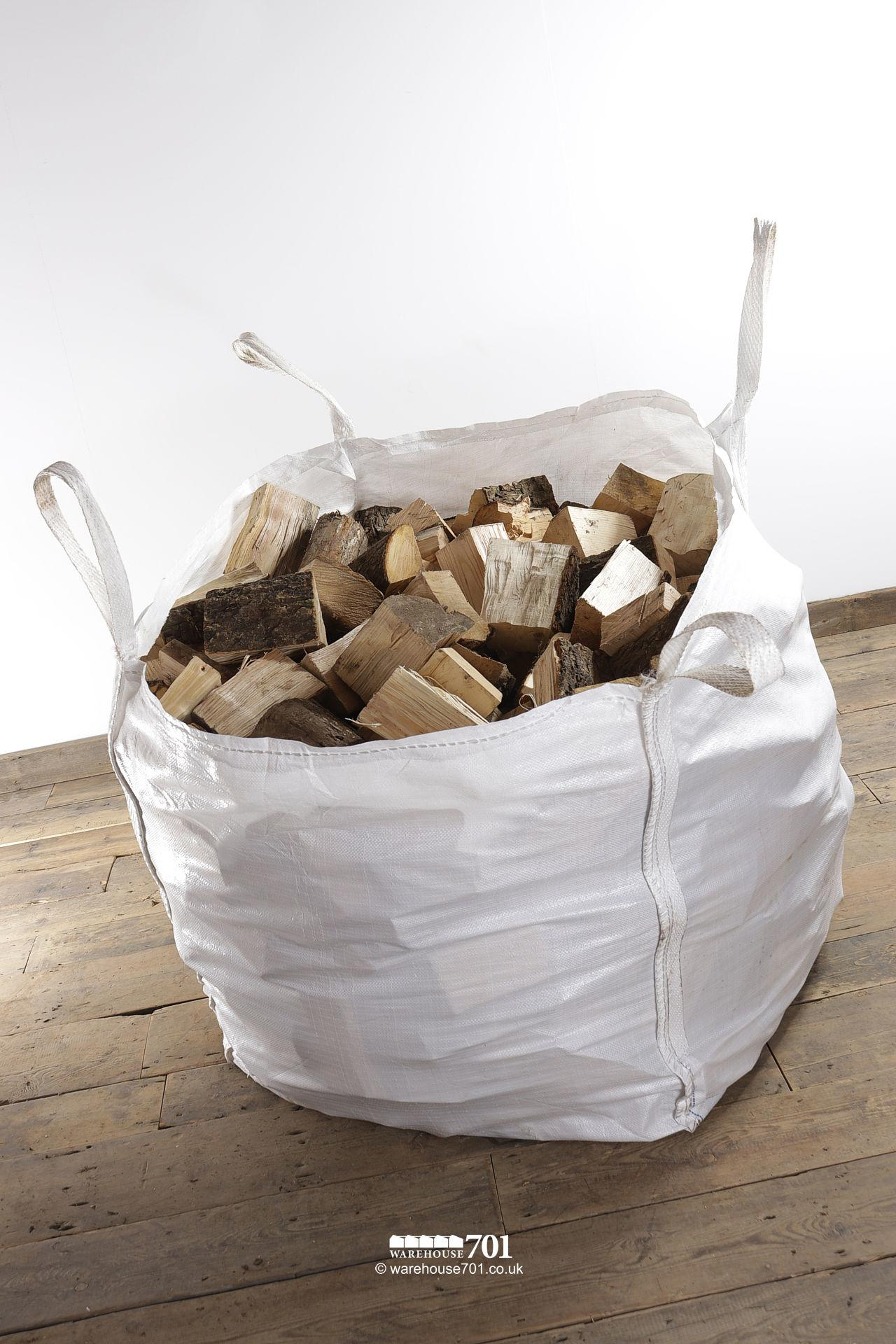Bulk Bags of LOGS for Woodburners and Open Fires #2