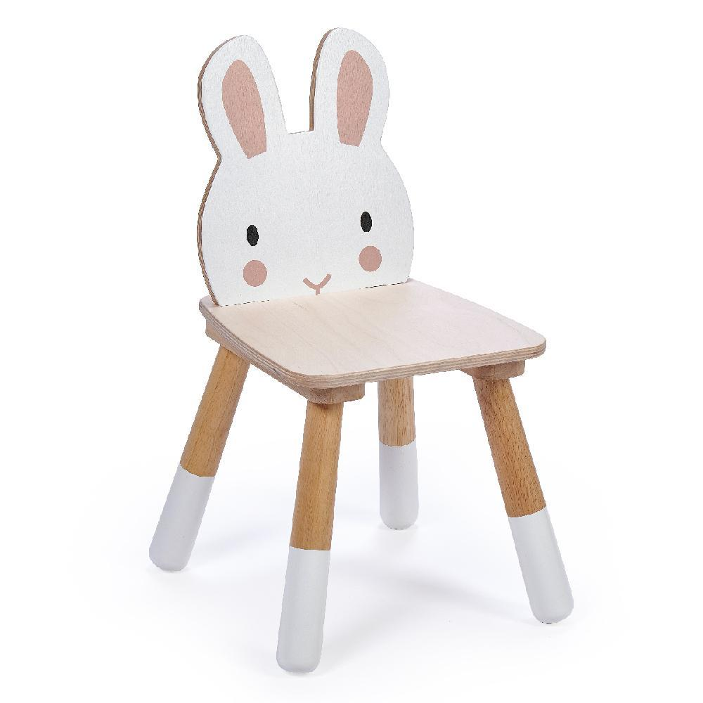 New Wooden Forest Rabbit Themed Children's Chair #2
