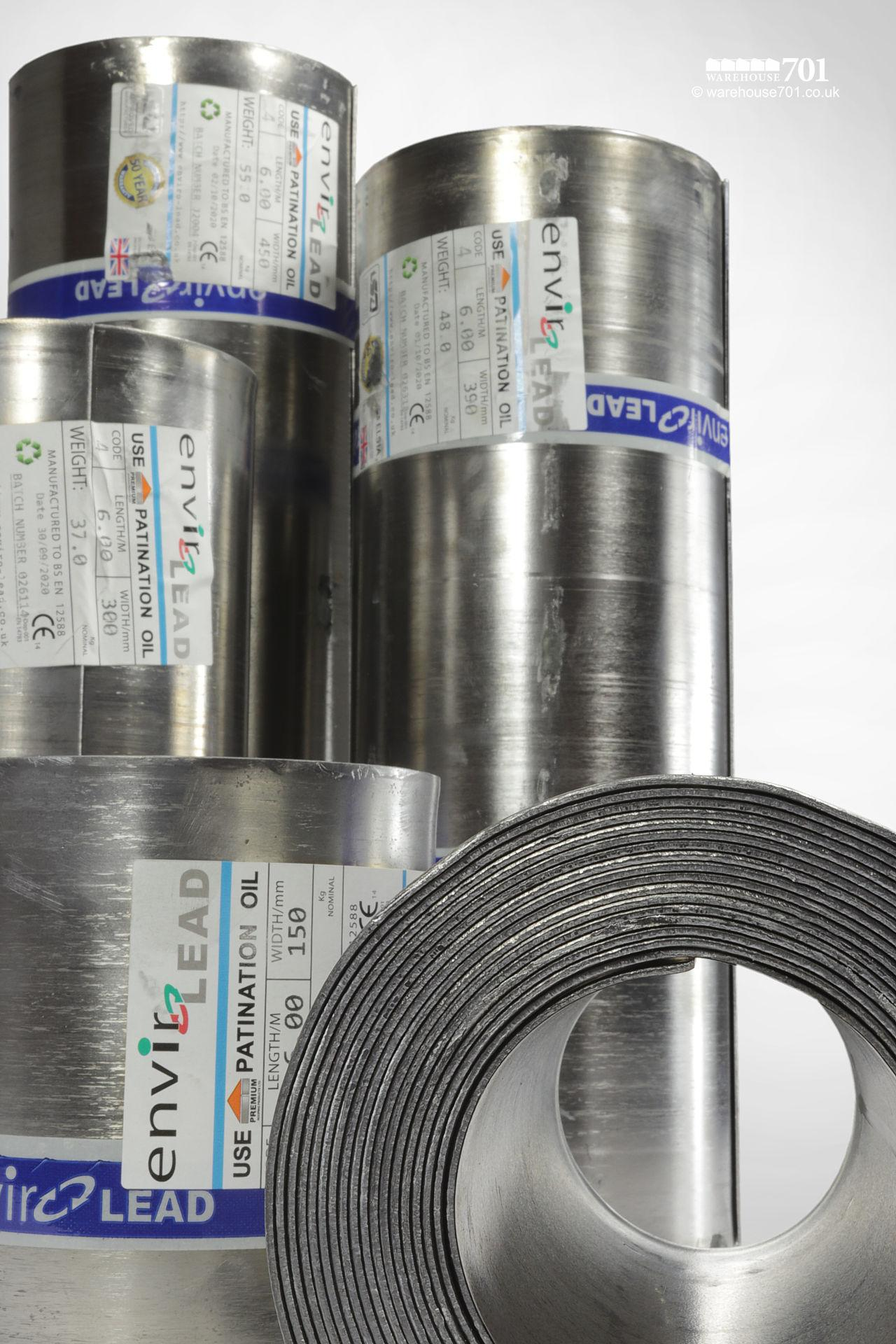 Code 4 Roofing Lead 6m Rolls #4