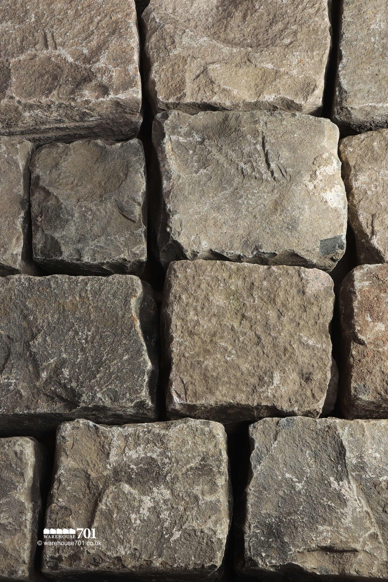 Salvaged Full Size Granite Squared Cobbles or Setts #2