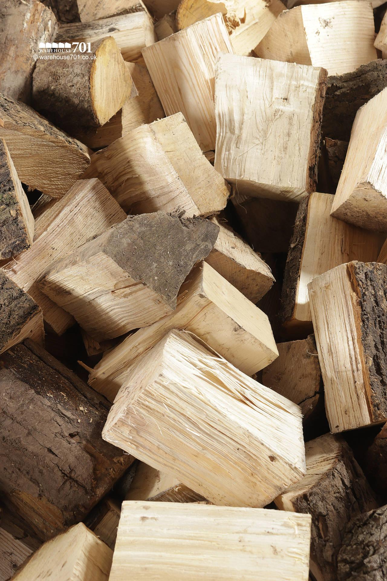 Bulk Bags of LOGS for Woodburners and Open Fires #3