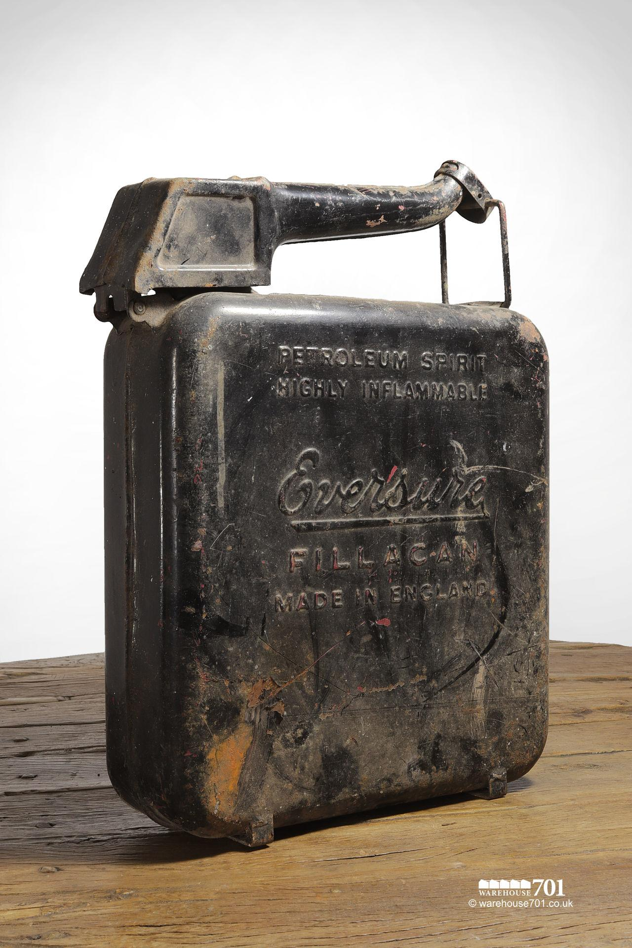 Assorted Salvaged Jerry Cans and Fuel and Oil Cans #3