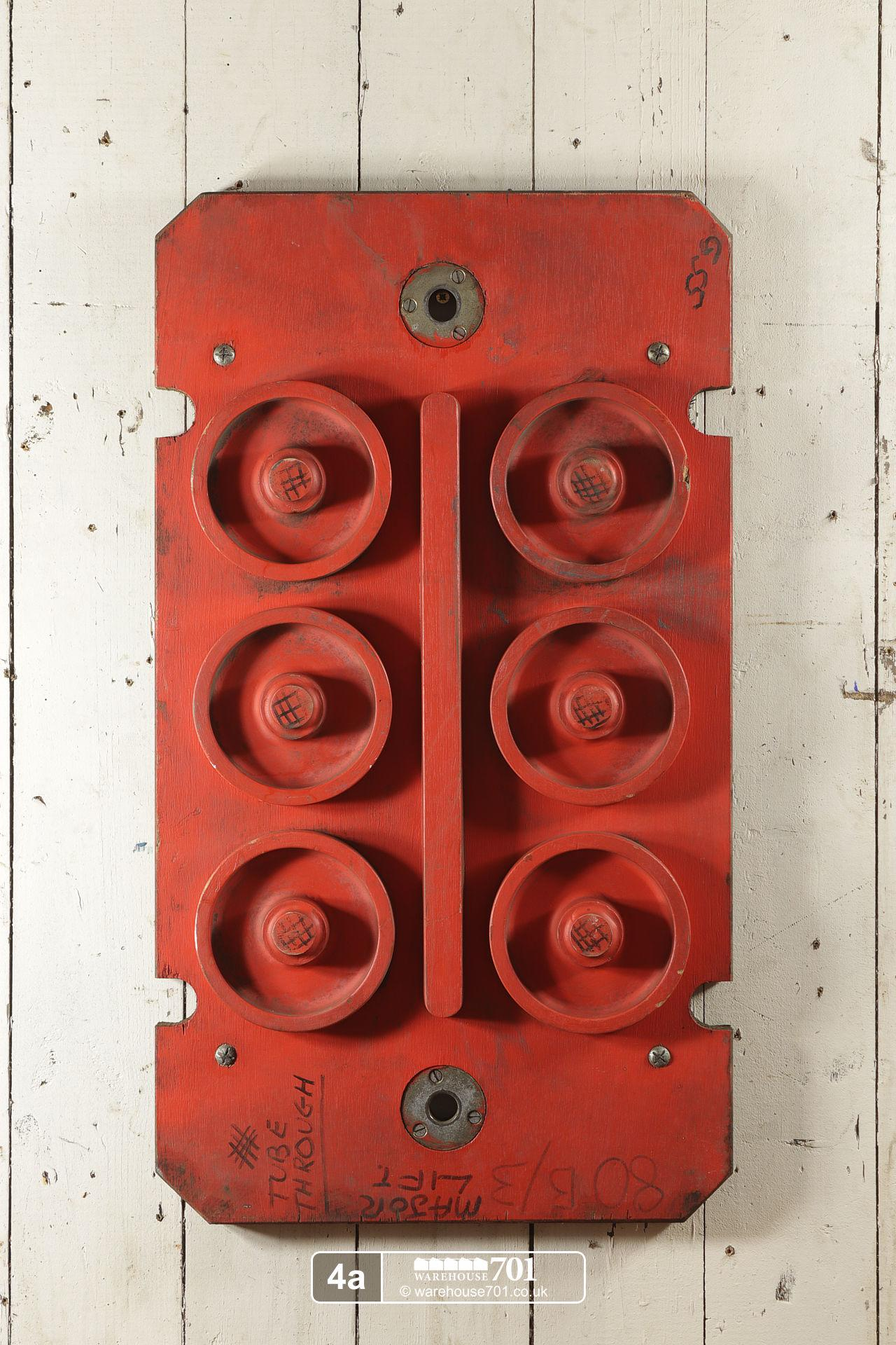 Reclaimed Foundry Patterns or Moulds (No's 4 to 6) for Shop, Retail and Home Display #2