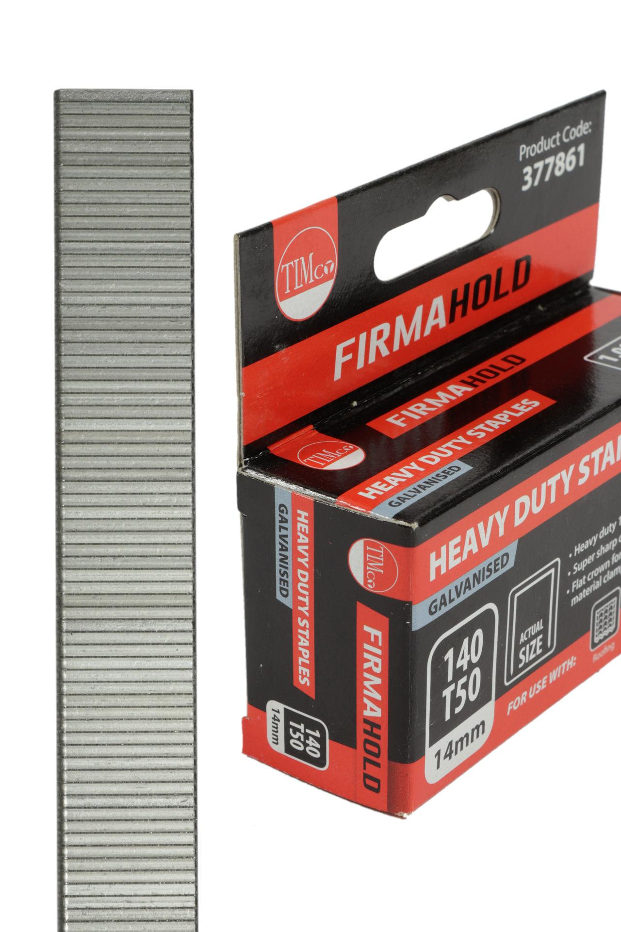 Heavy Duty Galvanised Staples #1