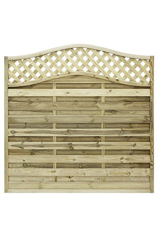 Elite Meloir Timber Fence Panel 1.8m #2
