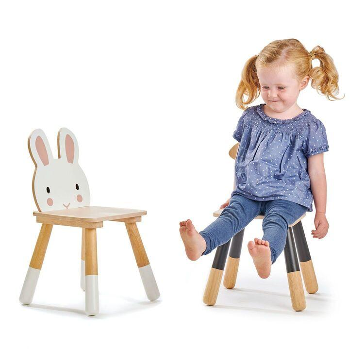 New Wooden Forest Rabbit Themed Children's Chair