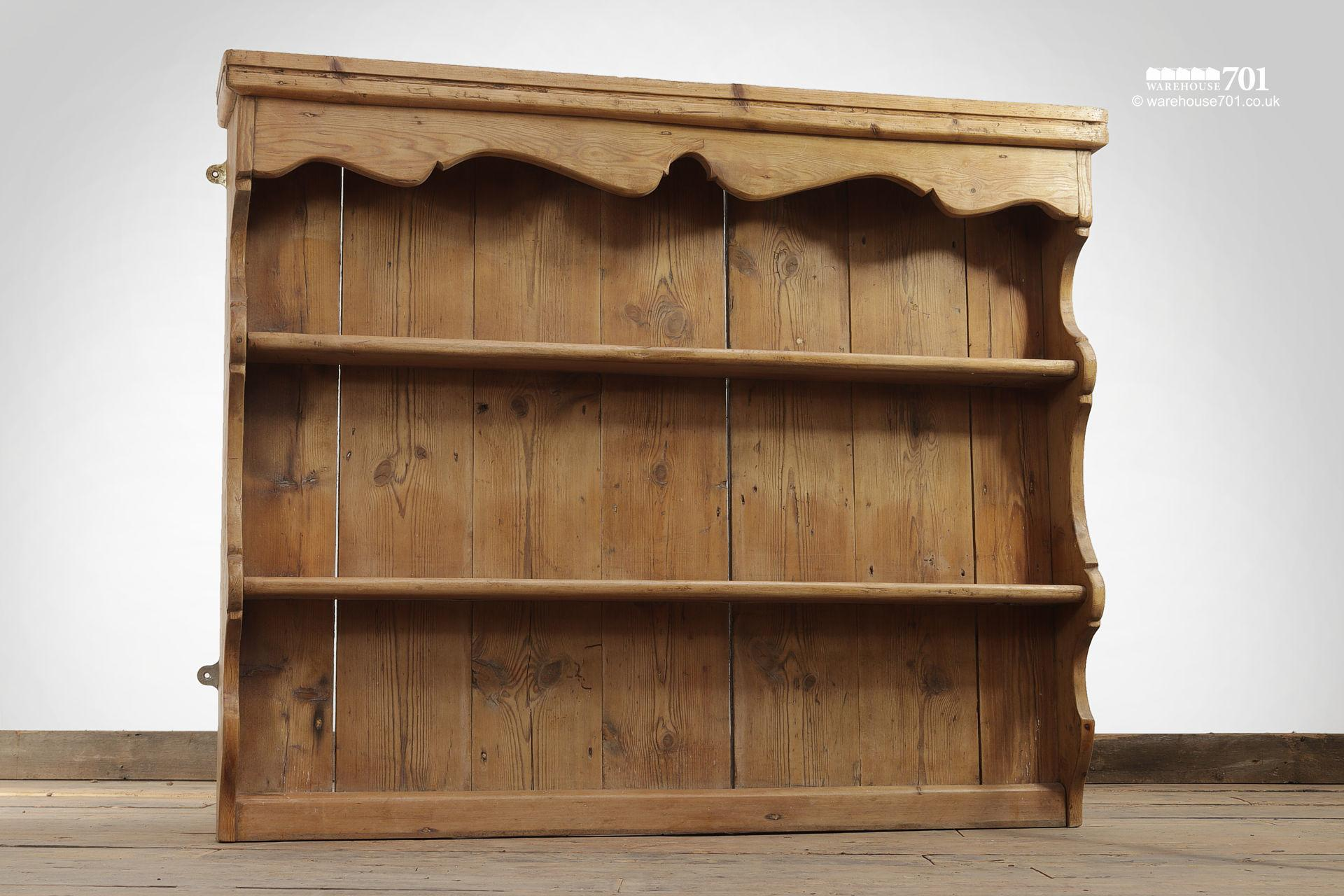 Vintage Honey Pine Welsh Dresser Tops