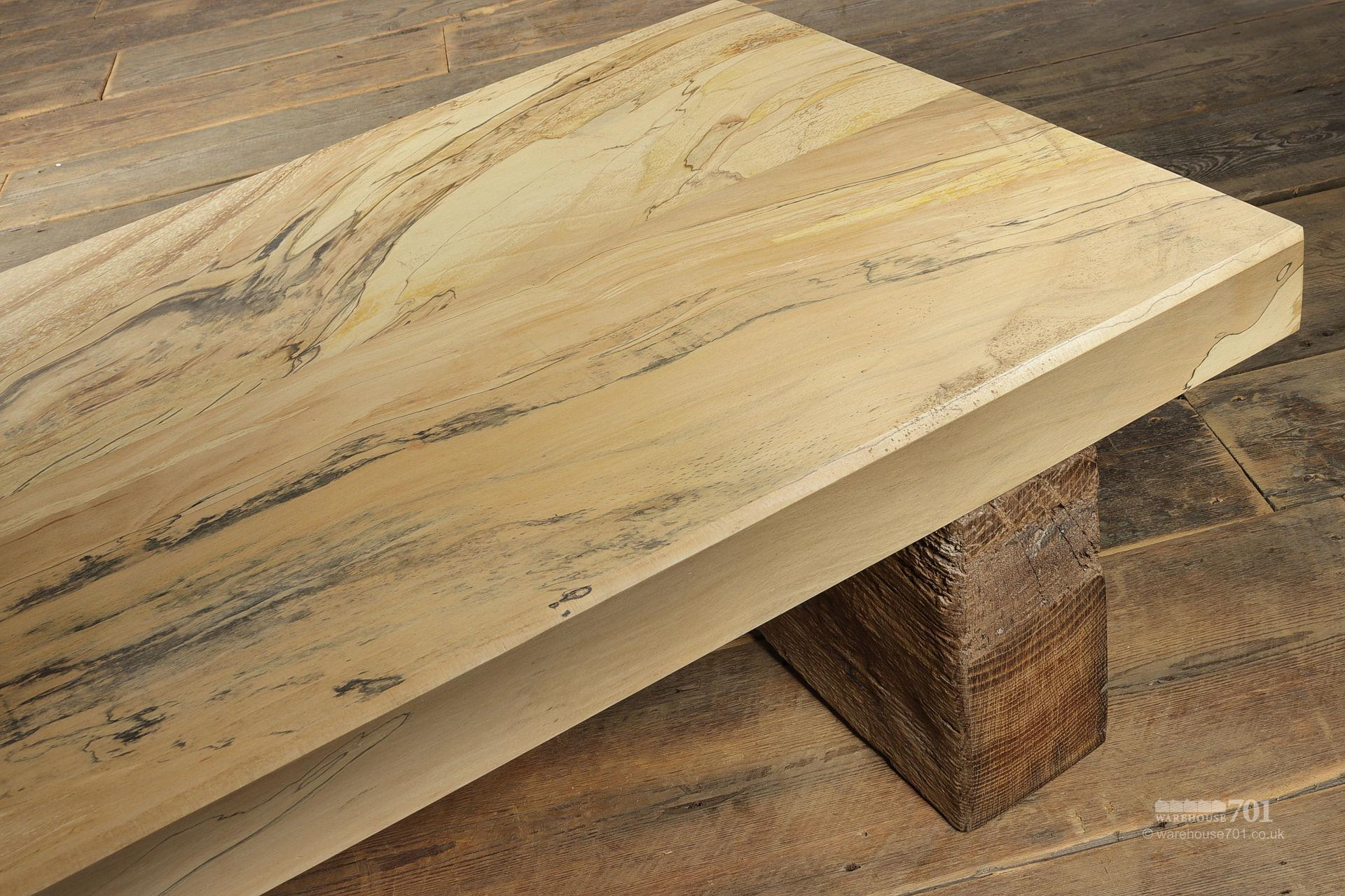 Hand-Made Spalted Beech Coffee Table #4