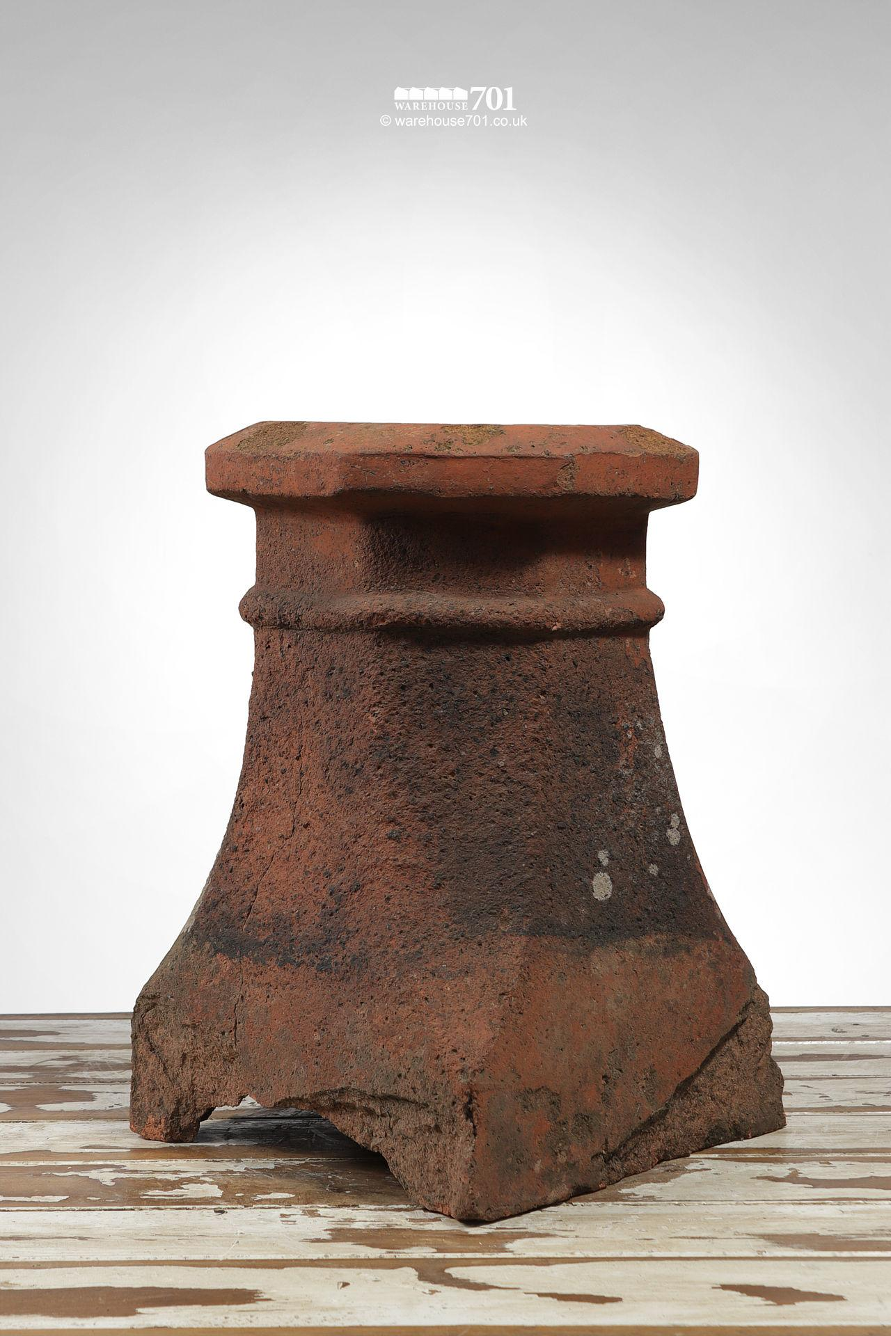 Vintage Terracotta Halifax Style Chimney Pot