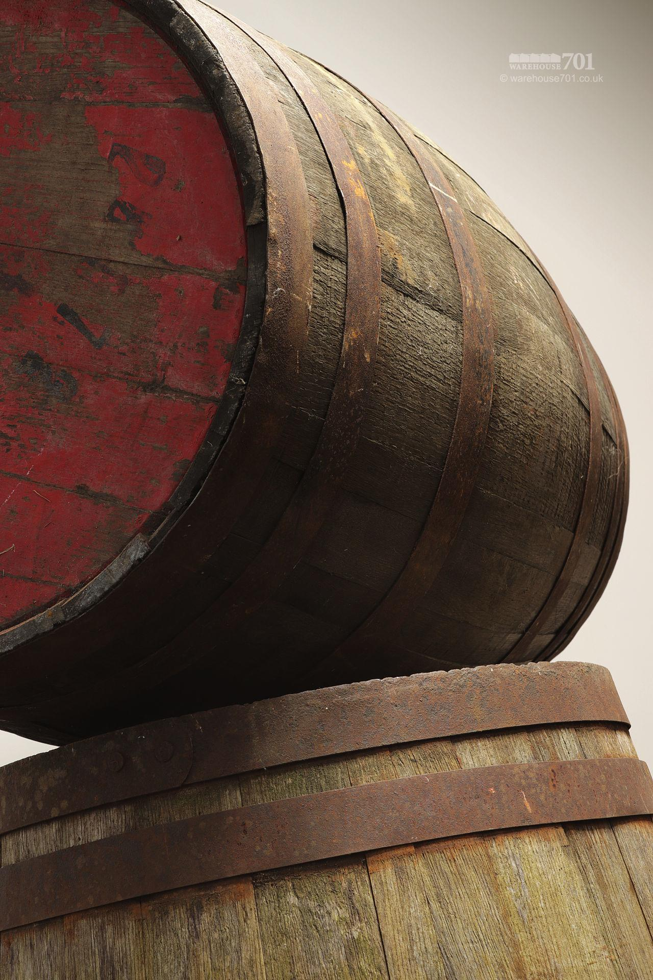 Reclaimed Solid Oak Authentic Whisky Barrels, Casks or Kegs