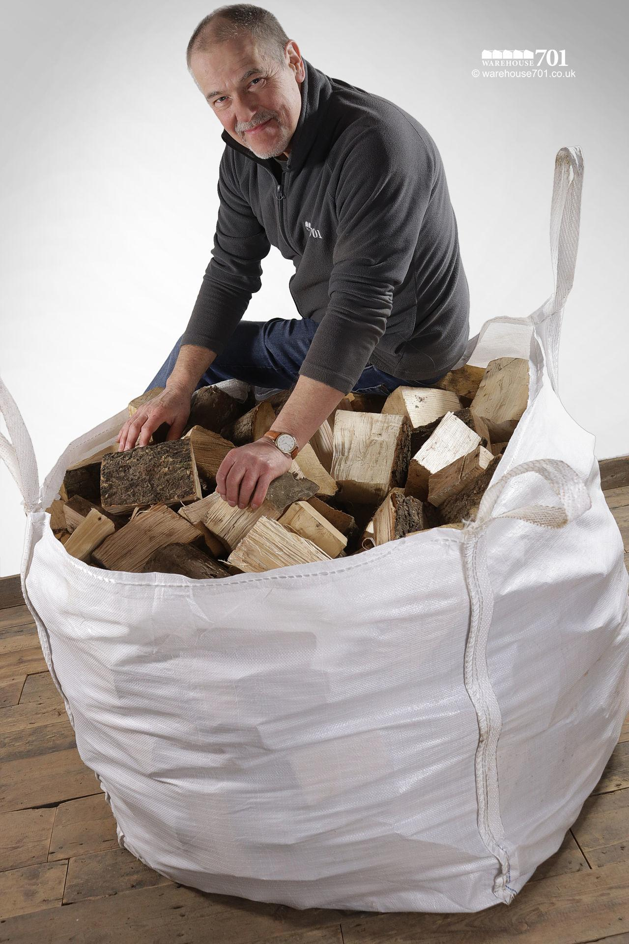 Bulk Bags of LOGS for Woodburners and Open Fires #4
