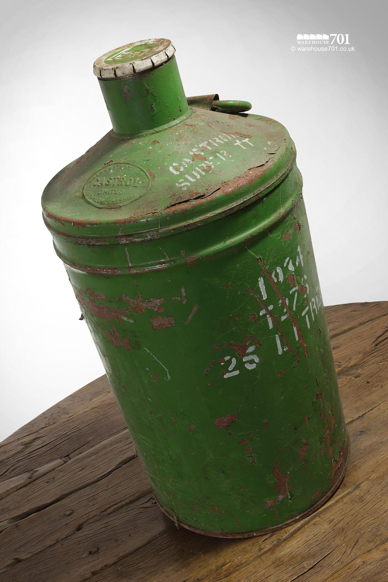 Assorted Salvaged Jerry Cans and Fuel and Oil Cans #4