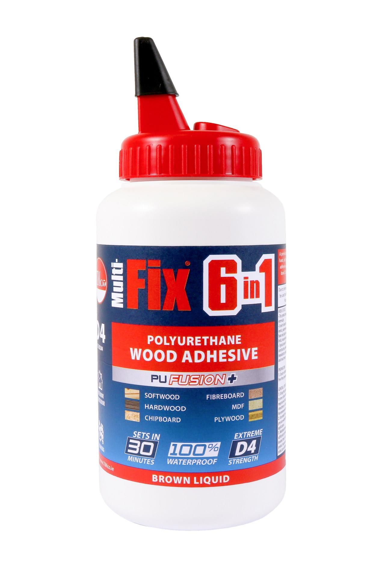 Multi-Fix 6 in 1 PU Wood Adhesive 750g - 30 Minutes