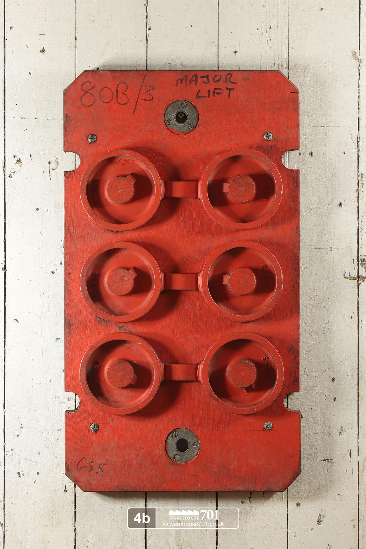 Reclaimed Foundry Patterns or Moulds (No's 4 to 6) for Shop, Retail and Home Display #3