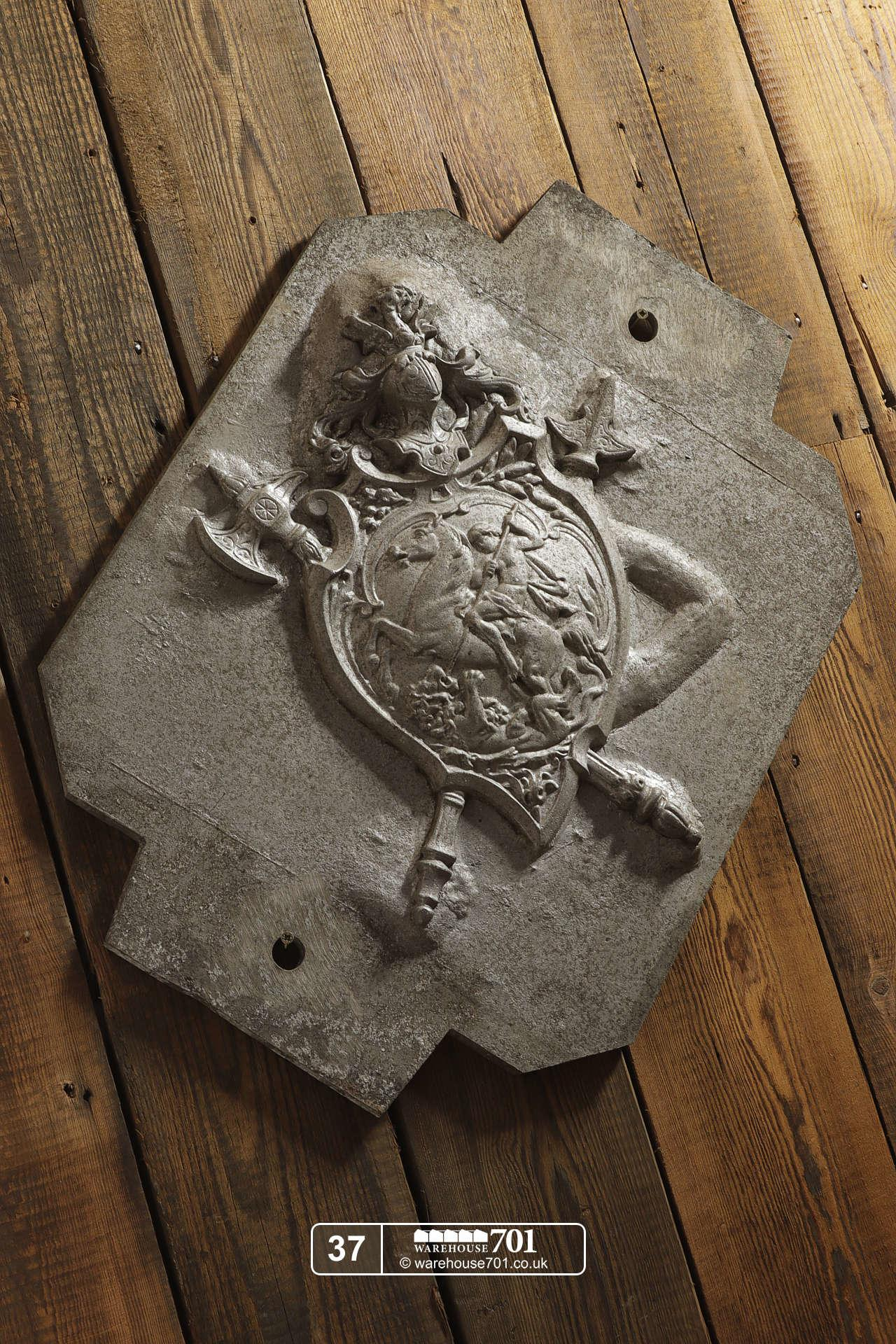 Aluminium Foundry Castings of Heraldic Crests (No's 35, 36, 37) for Shop, Retail and Home Display #8