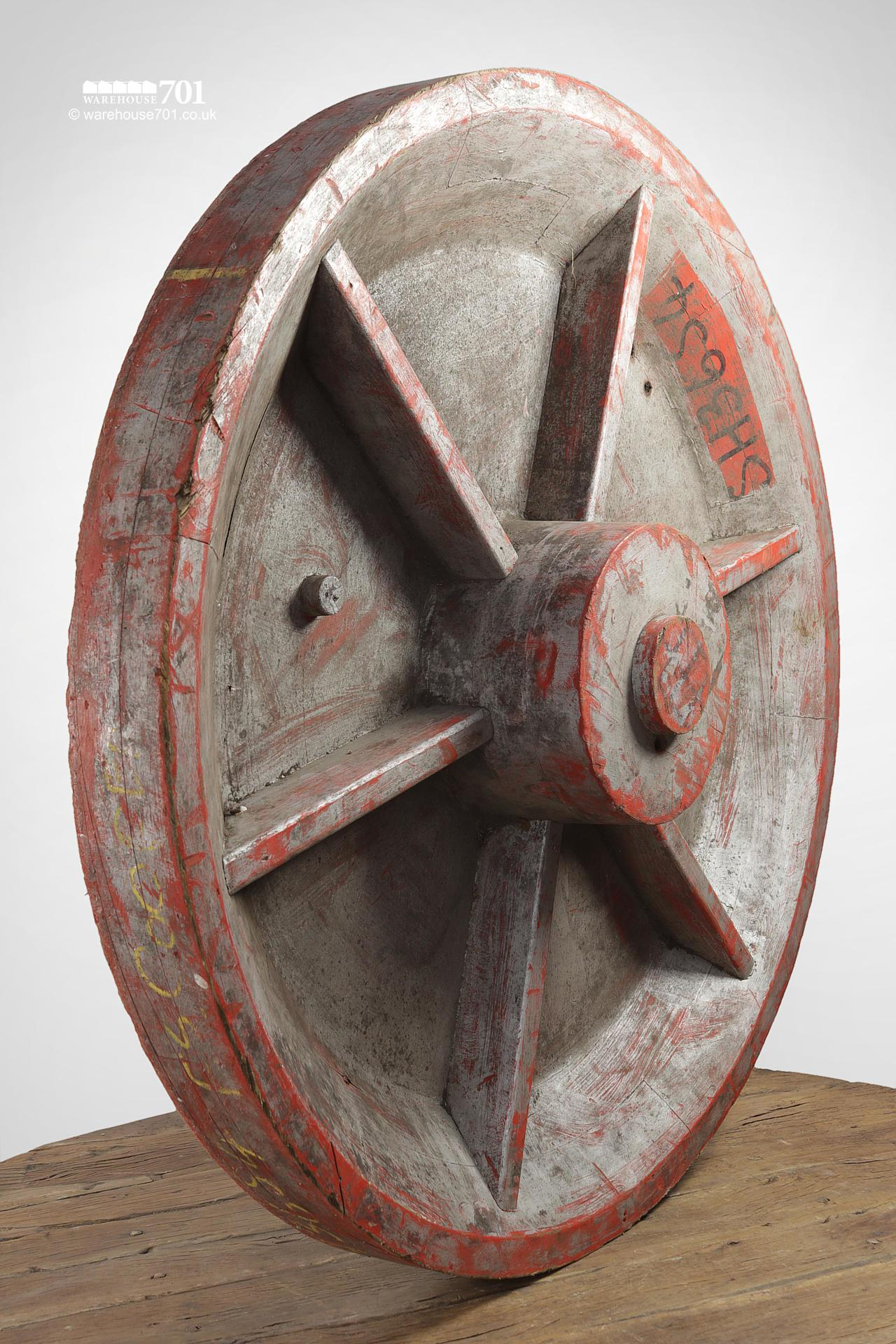 Old Circular Wheel Casting Mould Pattern #3