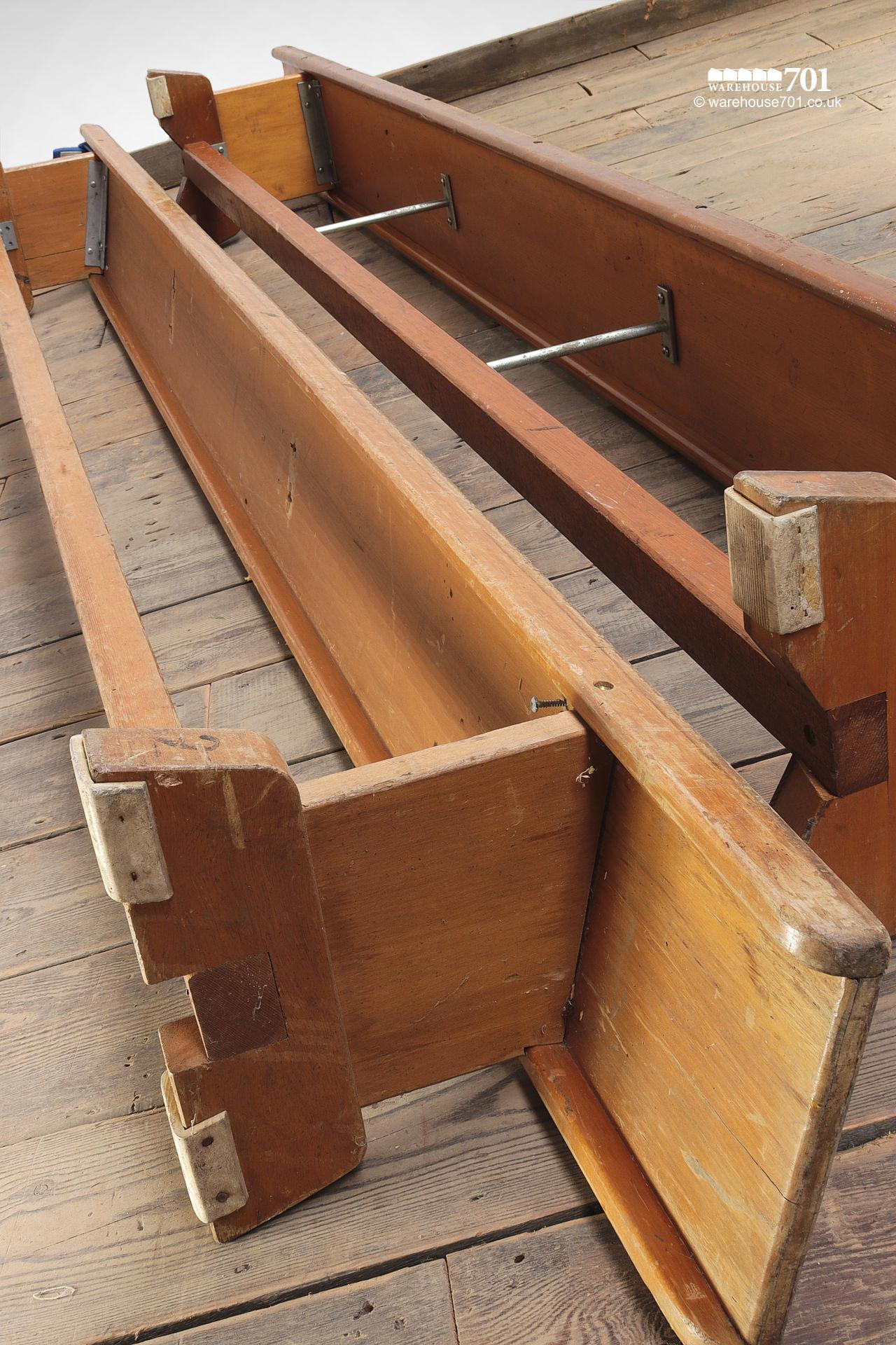 Two Salvaged Gymnasium or Locker Room Benches #5
