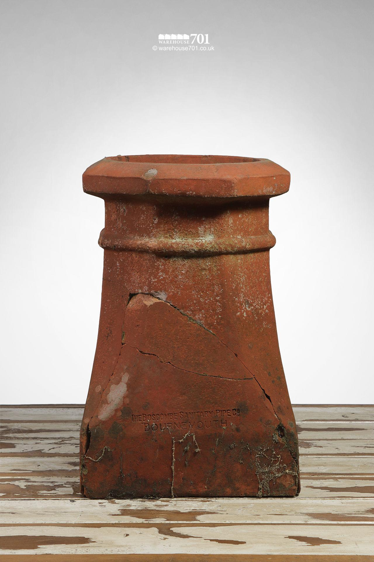 Old Halifax Style Terracotta Chimney Pot