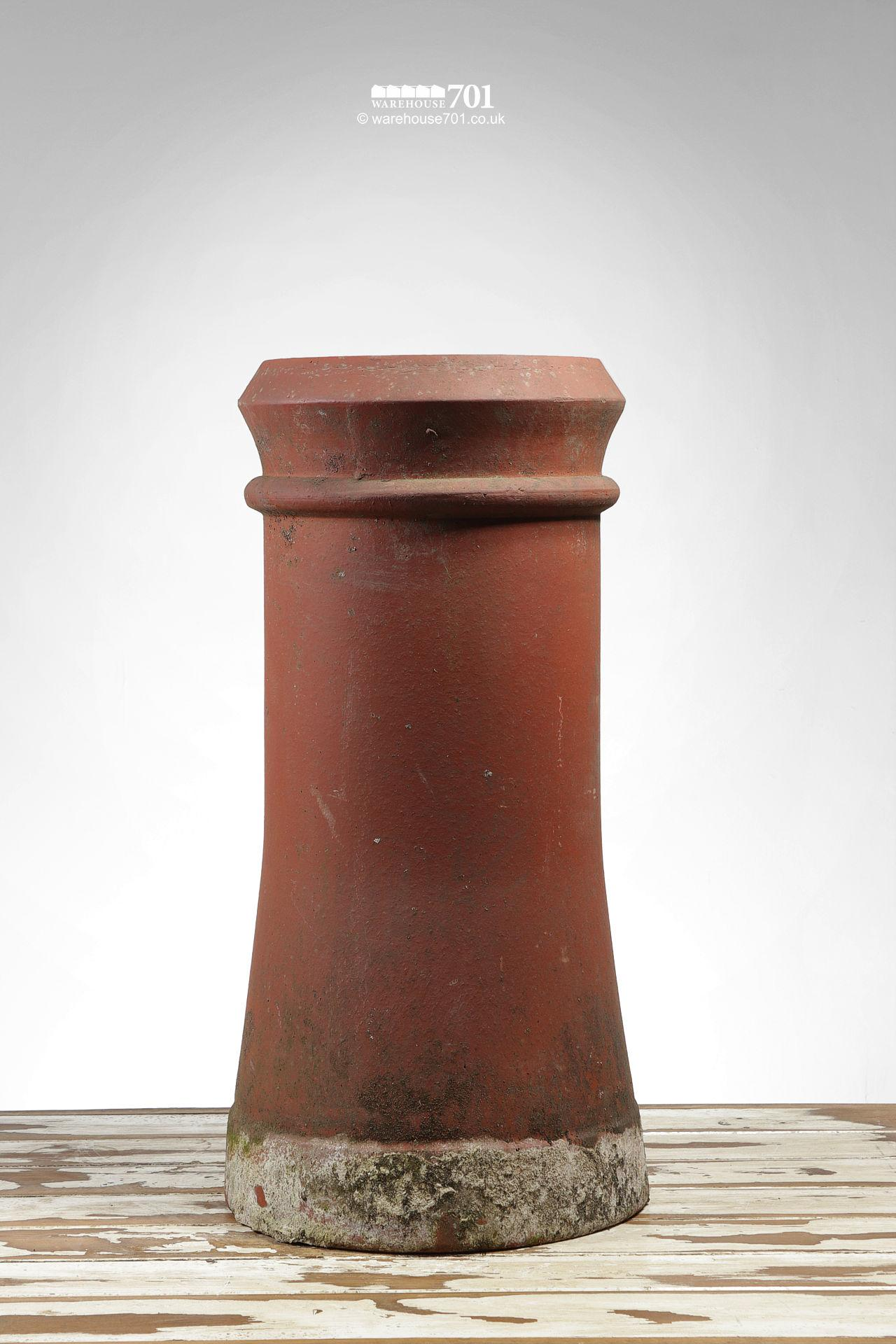 Old Semi-Tapered Canon Barrel Chimney Pot