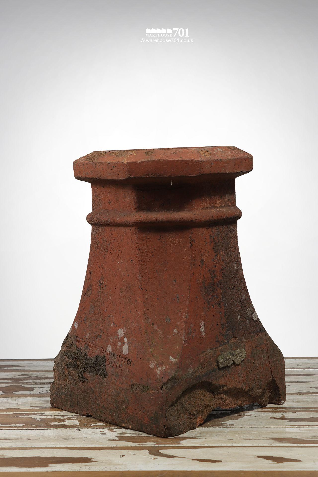 Vintage Terracotta Halifax Style Chimney Pot #2