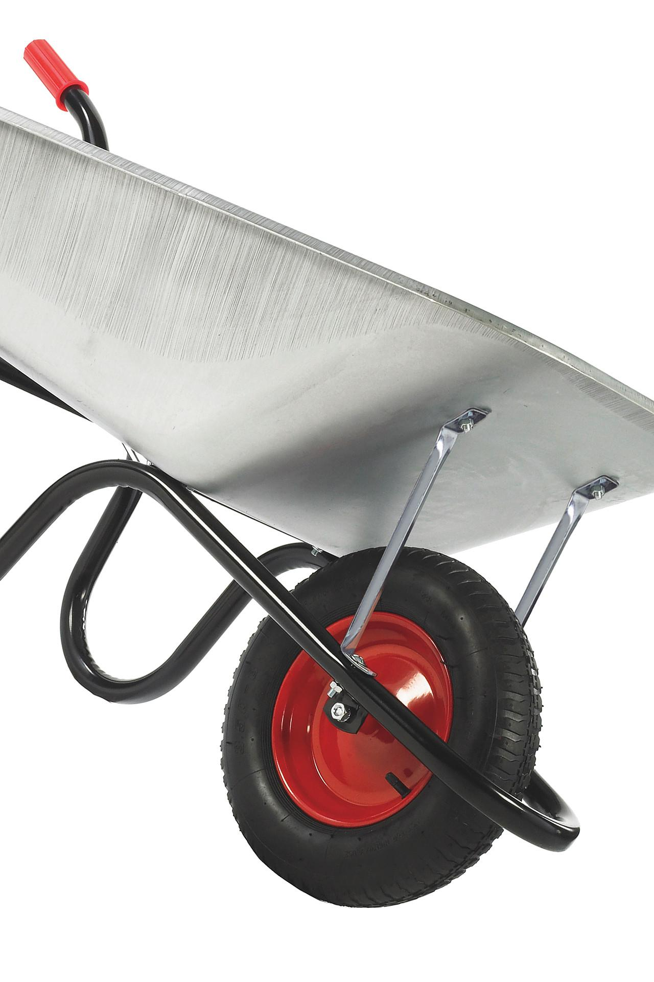 Haemmerlin Camden Classic Galvanised 85L Solid Wheel Wheelbarrow