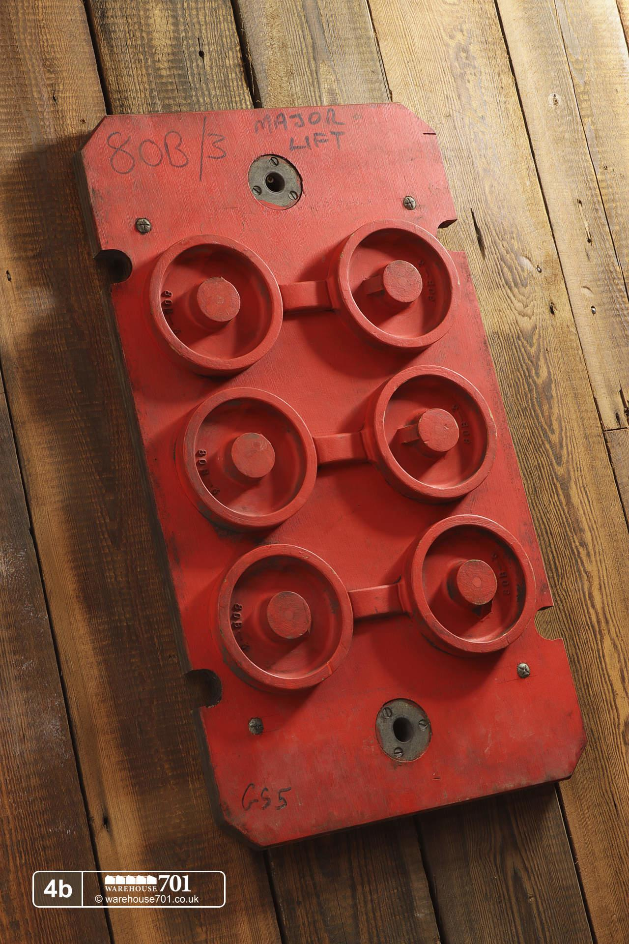 Reclaimed Foundry Patterns or Moulds (No's 4 to 6) for Shop, Retail and Home Display #4