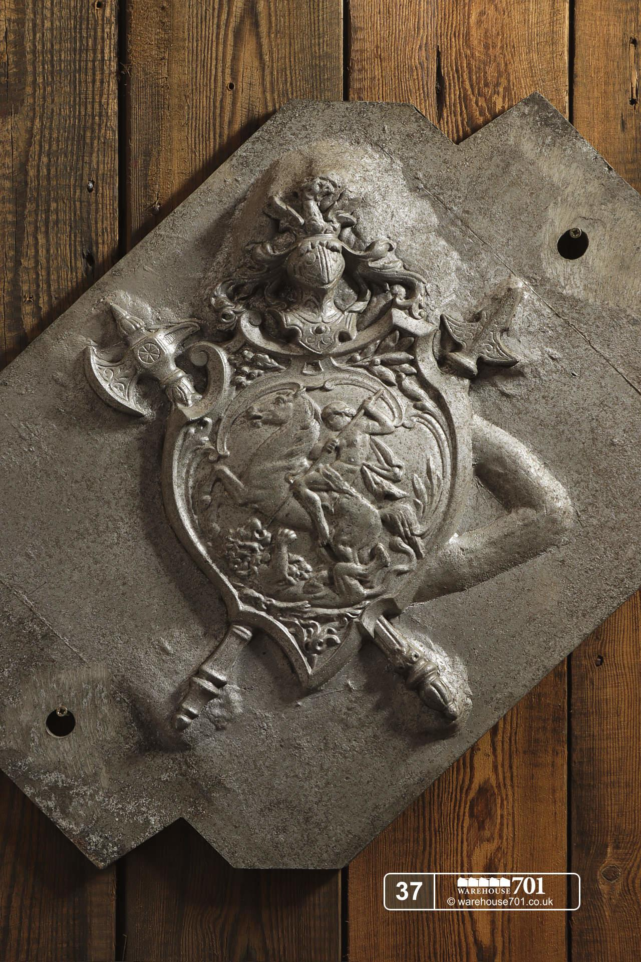 Aluminium Foundry Castings of Heraldic Crests (No's 35, 36, 37) for Shop, Retail and Home Display #9